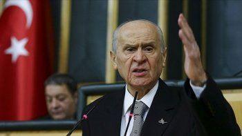 Son dakika: MHP lideri Bahçeli'den seçim barajı açıklaması