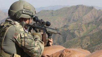 Irak'ın kuzeyinde 2 PKK'lı terörist öldürüldü