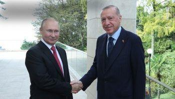 Son dakika! Cumhurbaşkanı Erdoğan ile Putin arasında dikkat çeken antikor diyaloğu