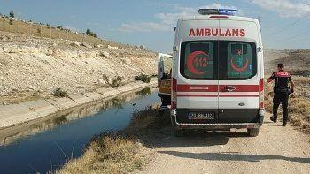 Sulama kanalına düşen Afgan çocuk boğuldu