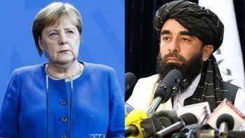 Taliban Almanya Başbakanı Angela Merkel'i Afganistan'a davet etti