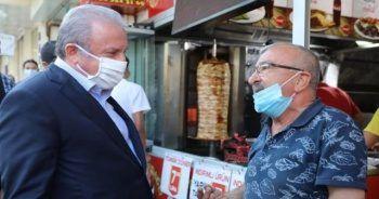 TBMM Başkanı Şentop'tan Tekirdağ esnafına ziyaret
