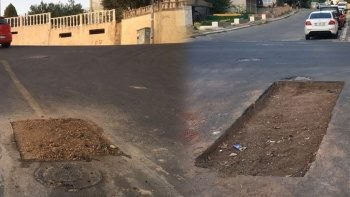 TESKİ'nin delik deşik ettiği sokaklara Belediye Başkanından isyan: Aldığınız para haram!