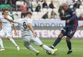 Trabzonspor ve Konyaspor puanları paylaştı: 2-2