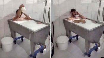 Türkiye'nin konuştuğu süt banyosu rezaletinde tanık konuştu
