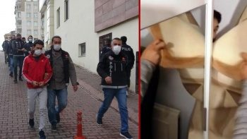 Uyuşturucu tacirlerine operasyon: Halının arkasında saklanırken yakalandı