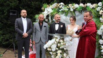Yeni çiftten 6 çocuk isteyen Başkan Özcan'dan ilginç sözler