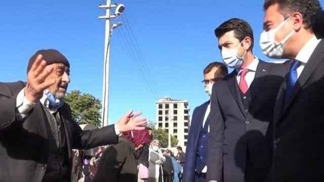 Ali Babacan'a vatandaşlardan sert tepki: Allah akıl versin... Nankörlük yapma...