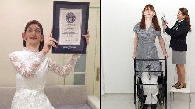 Dünyanın en uzun boylu kadını bir Türk: Rümeysa Geldi