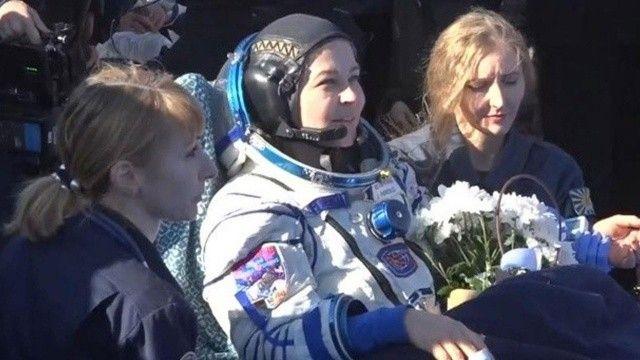 İlk uzay filmini çekecek olan ekip Dünya'ya döndü