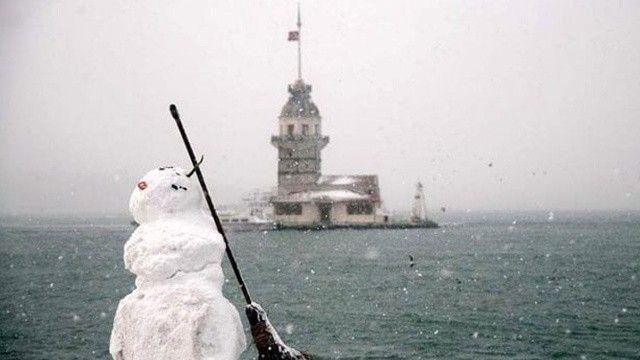 İstanbul'u kar vuracak! Son 10 yıla göre fazla olacak