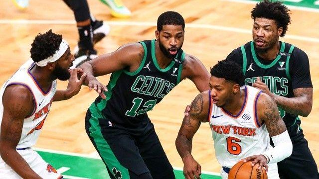 NBA Boston Celtics New York Knicks maçı nereden izlenir? Boston Celtics New York Knicks maçı kaç kaç bitti?