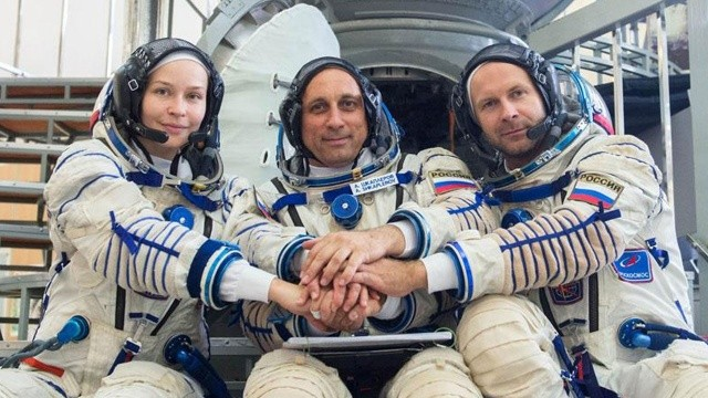 Uzayda film çekti: Şimdi sıra Ay veya Mars'ta