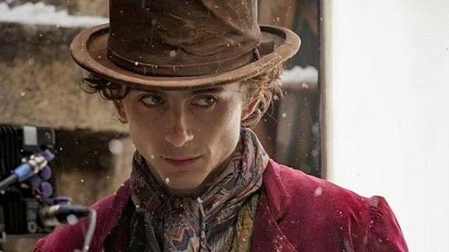 Yeni Willy Wonka: Timothee Chalamet! Filmden ilk kareleri paylaşan Chalamet, büyük ilgi uyandırdı!