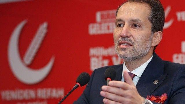 Yeniden Refah Partisi Genel Başkanı Dr. Fatih Erbakan: Millet İttifakı ile yürümeyiz