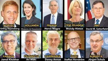 10 Büyükelçi kim? Hangi ülkelerin büyükelçisi istenmeyen adam ilan edilecek?