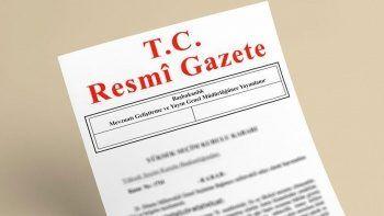 4 bakanlığa atama kararları Resmi Gazete'de