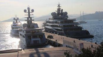 Milyon dolarlık yatlar Muğla'ya demirledi!