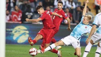 A Milli Takım işi zora soktu! Maç sonucu: Türkiye 1-1 Norveç