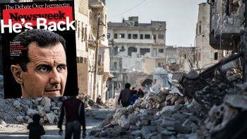 ABD dergisi Esad'ı kapağına taşıdı: Geri döndü