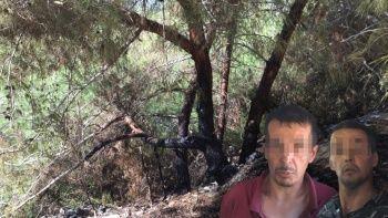 Adana'daki orman yangınının şüphelisini çakmak ele verdi! 'Çevre temiz olsun diye yaktım'