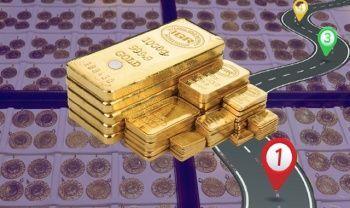 Gram altın 2021'in zirvesine yükseldi