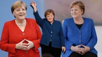Angela Merkel'in ceketlerinin akıbeti belli oldu