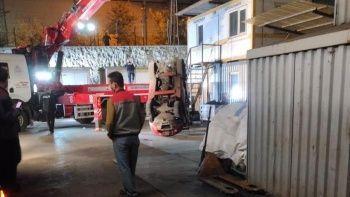 Ankara'da iş kazası! İş makinesinin altında can verdi