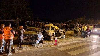 Antalya'da zincirleme kazada ortalık savaş alanına döndü