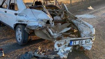 Arabanın LPG tankı bomba gibi patladı