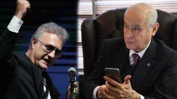 Bahçeli'den Tamer Karadağlı'ya destek telefonu