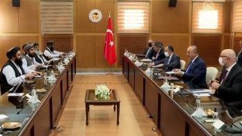 Bakan Çavuşoğlu açıkladı! Taliban heyeti ile ne konuşuldu?