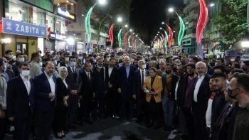 Bakan Soylu'ya Diyarbakır'da sevgi seli