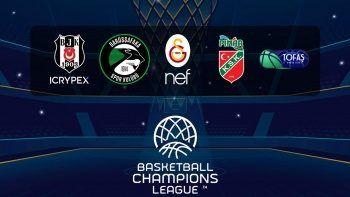 Basketbol Şampiyonlar Ligi, Tivibu Spor ekranlarında olacak