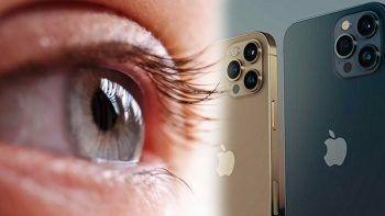 Bir doktor iPhone 13 Pro Max'i göz muayenesinde kullandı