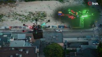 Dünyada bir ilk: Drone ile akciğer taşındı sadece 6 dakika sürdü