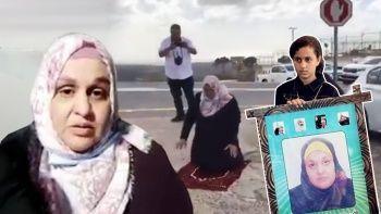 Serbest bırakılan Filistinli anne çocuklarına sarılamadı