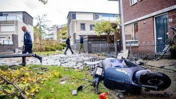 Fırtına Fransa Hollanda Belçika'yı uçurdu