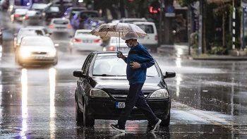 Hafta sonu gök gürültülü yağmur ve sel uyarısı! 2 Ekim hava durumu