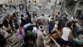 Husilerin balistik füze saldırısında Yemen'de 4'ü çocuk 8 kişi öldü