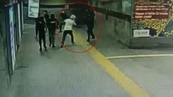 Husumetlilerine metro girişinde kurşun yağdırdı