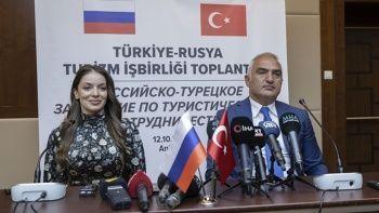 İmzalar atıldı! Türkiye ile Rusya'dan Ortak Turizm Eylem Planı
