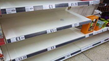 İngiltere'de benzin krizinin ardından gıda sıkıntısı