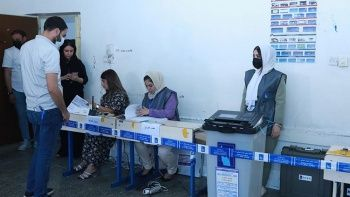Irak'ta oy sayımı başladı