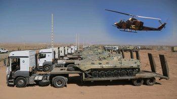 İran Azerbaycan ile Ermenistan sınırında askeri tatbikat