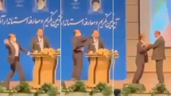 İran'da skandal olay: Albaydan generale tokat