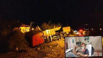 Kamyon sürücüsü diğer insanları kurtarmak için kendi canını hiçe saydı