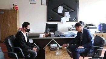 Kemalpaşa Kaymakamı Mehmet Faruk Saygın'dan azarladığı öğretmene özür