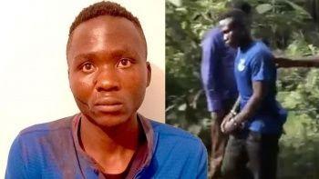 Kenya'da cezaevinden kaçan çocuk katilini halk linç etti