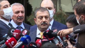 Kılıçdaroğlu ile görüşen TCMB Başkanı Kavcıoğlu: Spekülasyonlar MB'yi yıpratır